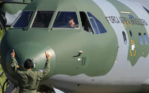 Pátrání po troskách Airbusu
