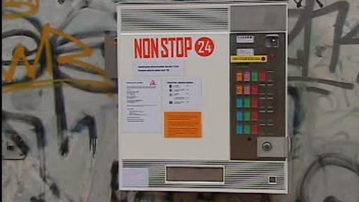Automat na hygienicky nezávadné injekční stříkačky