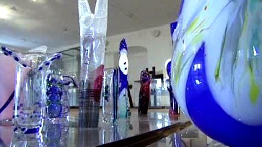 Unikátní sbírka moderního skla