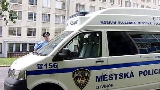 Mobilní policejní služebna