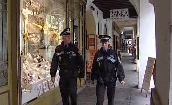 Policejní kontroly v Budějovicích