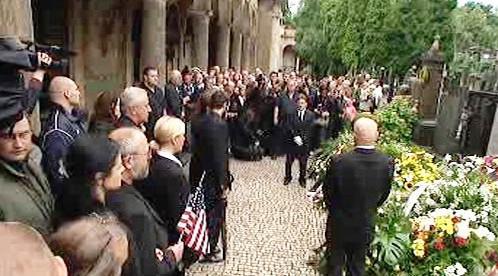Pohřeb Waldemara Matušky na Vyšehradě