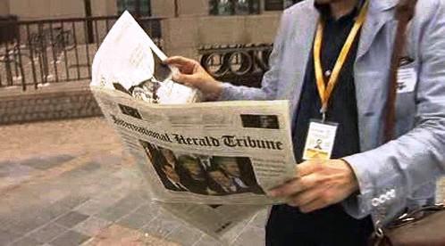 Parodie International Herald Tribune