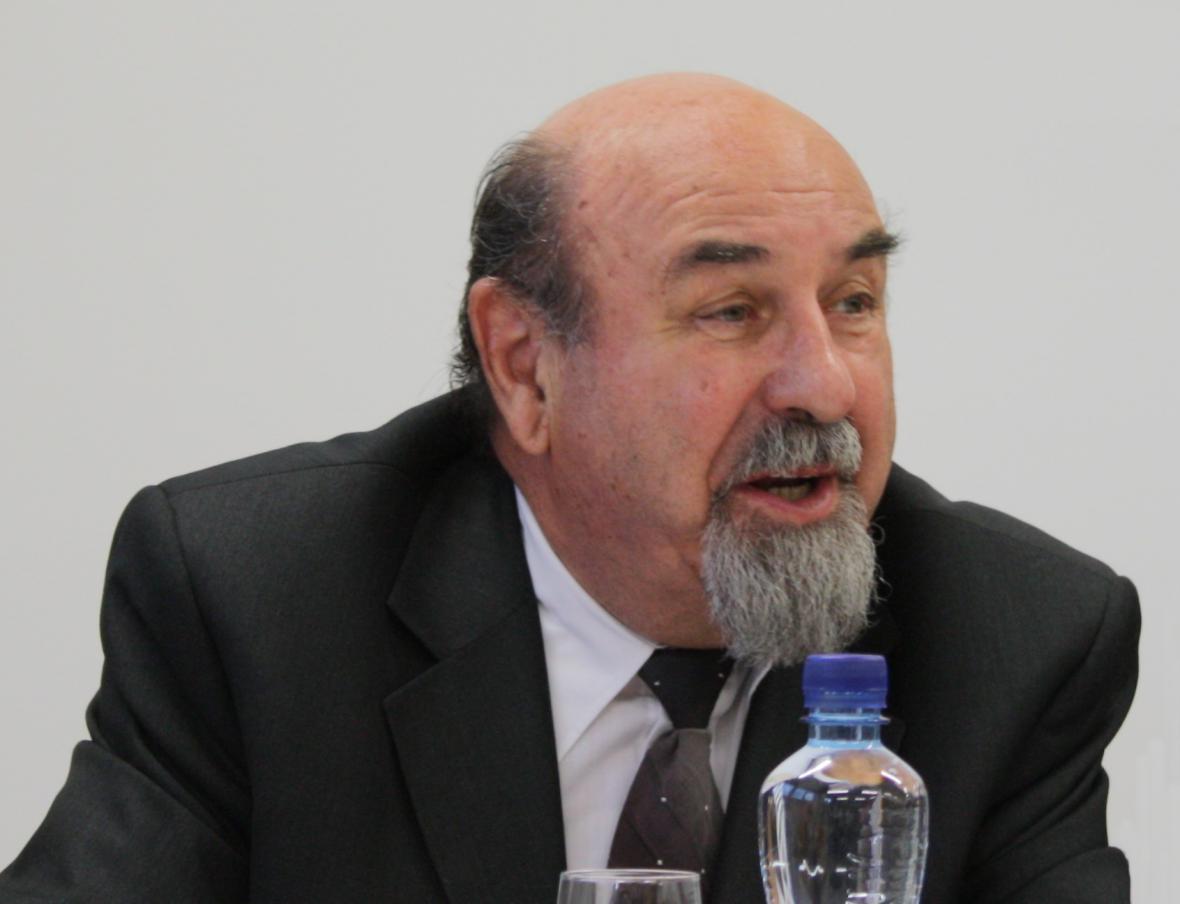 Rektor Bankovního institutu František Jirásek
