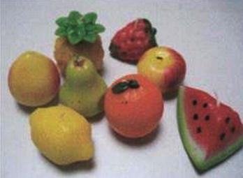Svíčky ve tvaru ovoce