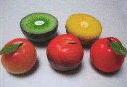 Svíčky zaměnitelné s ovocem