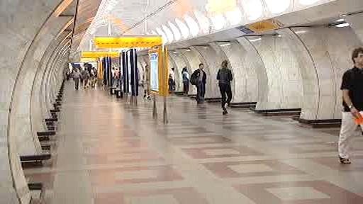 Stanice metra Anděl
