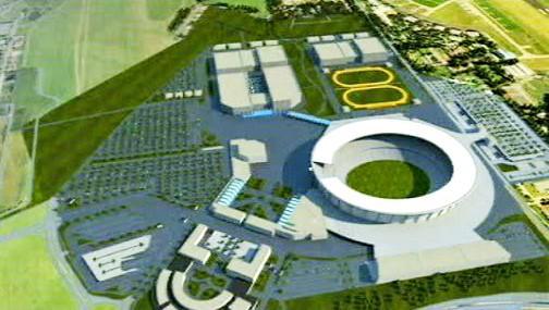 Návrhy olympijských sportovišť