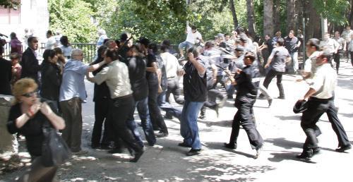 Demonstrace gruzínské opozice