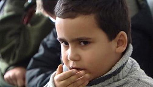 Dítě z ostravských Radvanic
