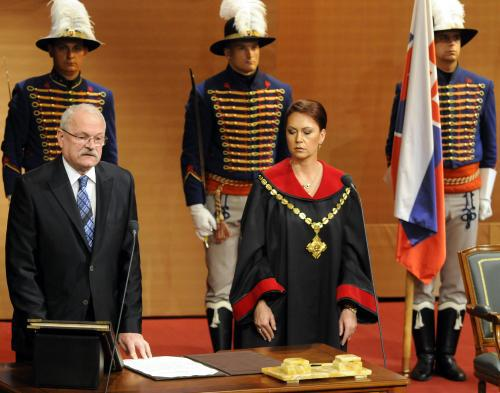 Inaugurace slovenského prezidenta