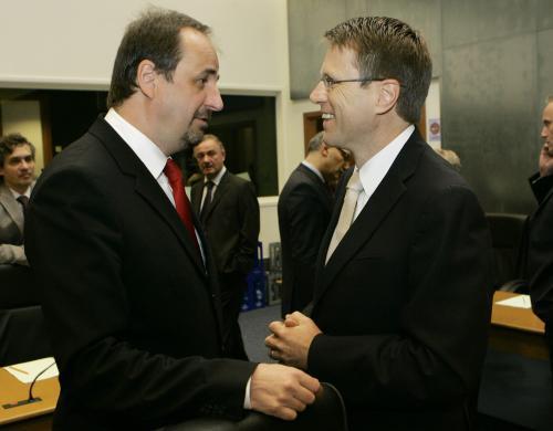 Jan Kohout a Samuel Žbogar