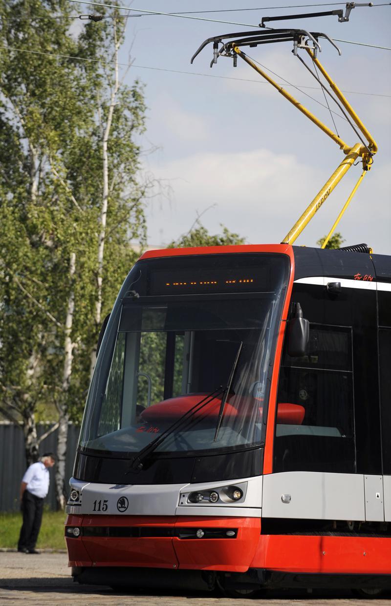 Tramvaj Škoda ForCity