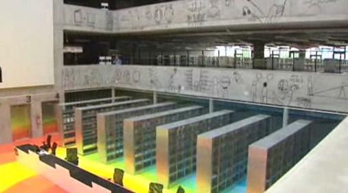 Národní technická knihovna - interiér