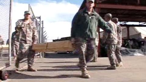 Američtí vojáci se stěhují