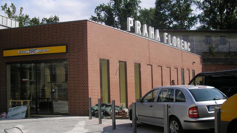Nová odbavovací hala na Florenci