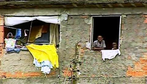 Slum v Rio de Janeiru