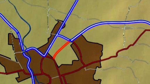 Projekt dostavby silnice