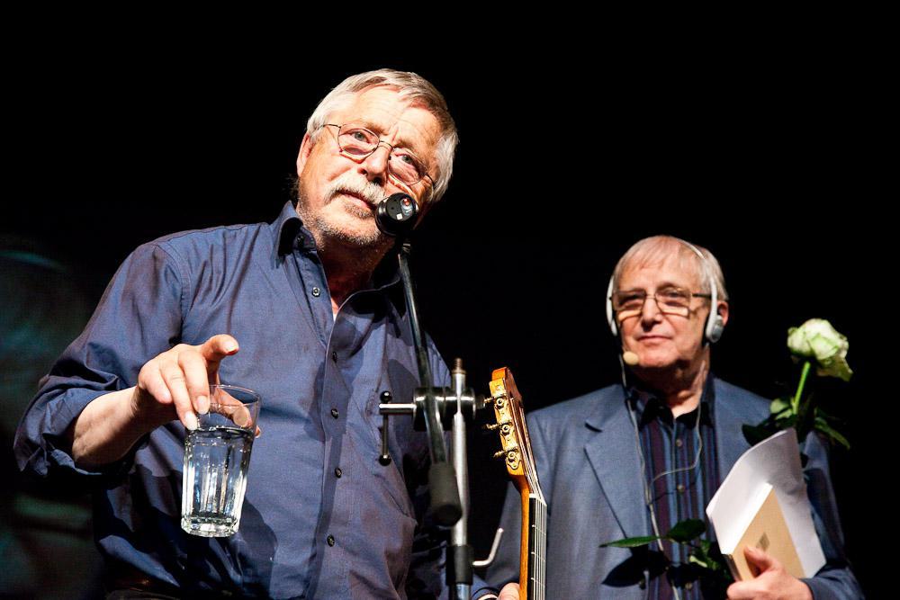 Wolf Biermann a Jiří Suchý