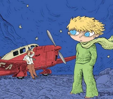 Obálka komiksu Malý princ