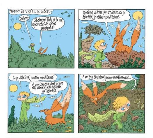 Komiks Malý princ