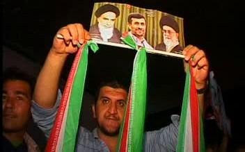 Oslavující Íránci
