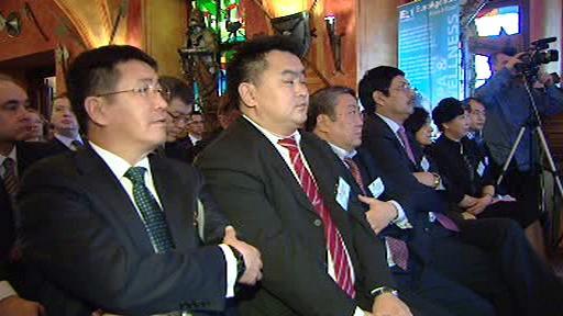 Zástupci asijských firem