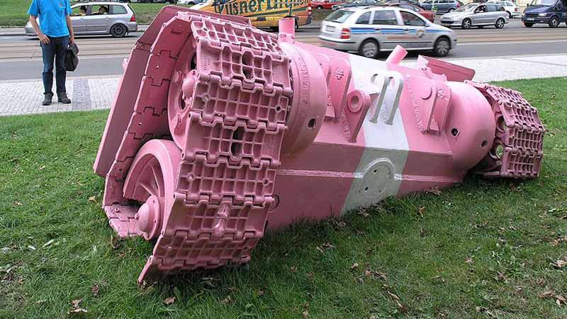 Trosky tanku č. 23