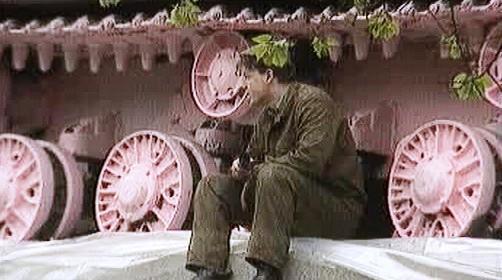 Tank č. 23 na pražském Smíchově