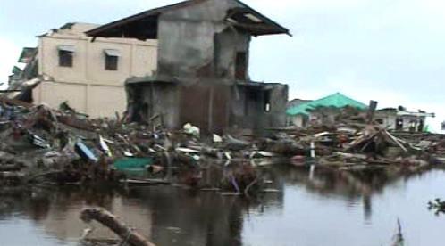 Následky tsunami