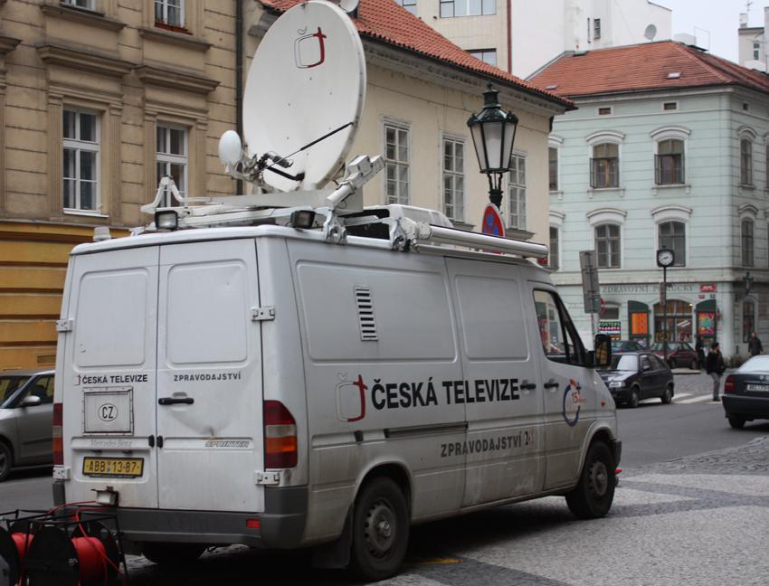 Přenosový vůz České televize