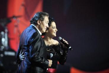 Karel Gott a Lucie Bílá