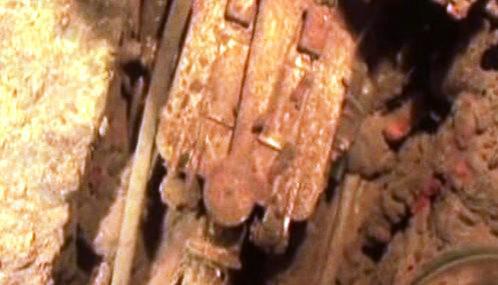 Část nalezené sovětské ponorky