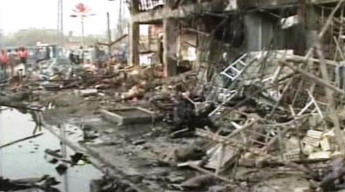 Pumový útok v Iráku