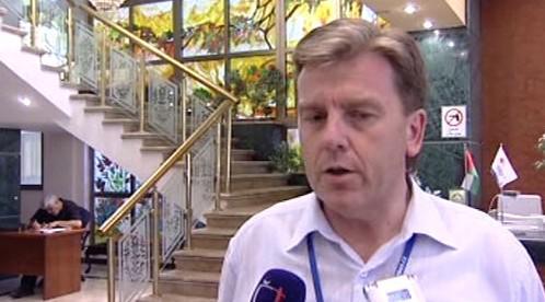 Miloslav Vlček v pásmu Gazy
