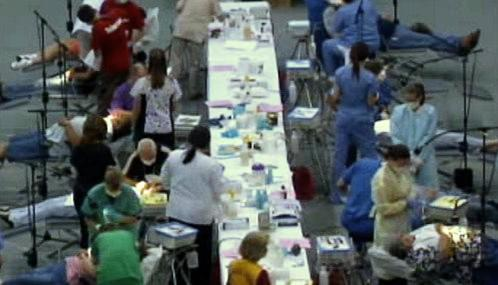 Bezplatné ošetření pacientů v USA