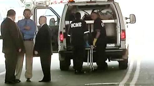 Vyšetřování smrti muže v dodávce