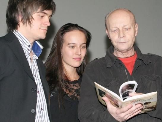 Miroslav Buberle představuje knihu Peklo s princeznou