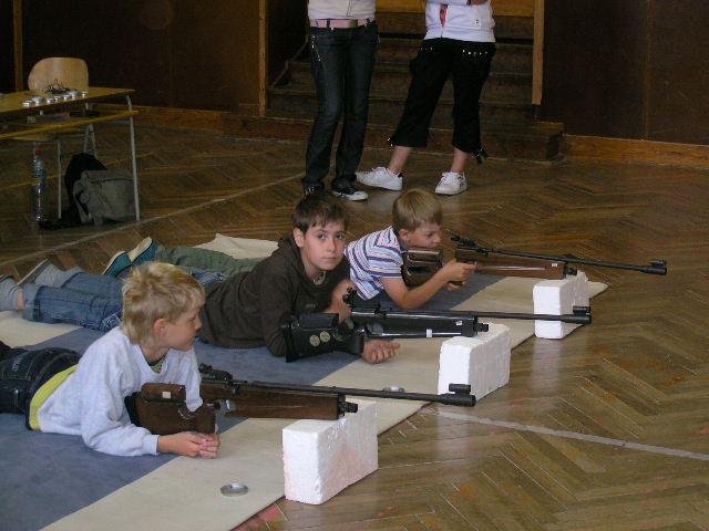 DDM Šumná - sportovní střelba