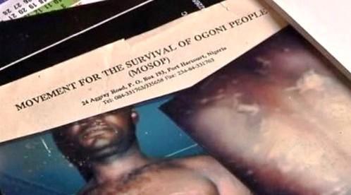 Hnutí za přežití ogonského obyvatelstva