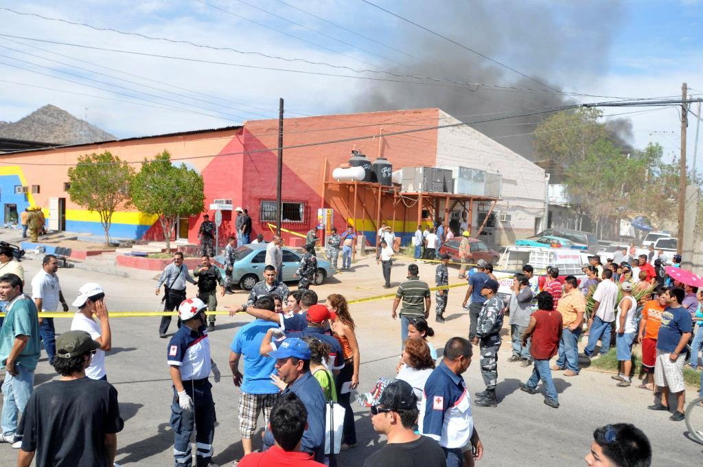 Požár v mexických jeslích