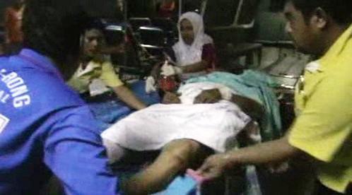 Zranění po střelbě v Thajsku