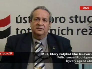 Bývalý agent CIA Félix Ismael Rodríguez