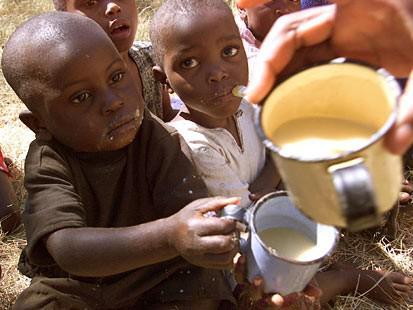 Děti v Zimbabwe