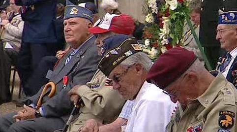 Oslavy 65. výročí vylodění v Normandii
