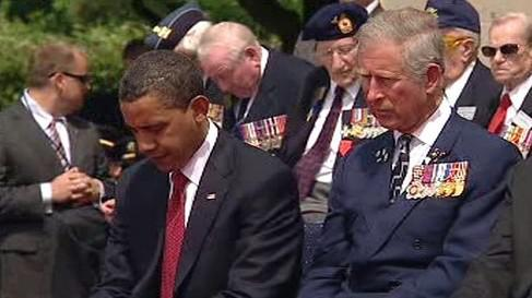 Barack Obama a princ Charles