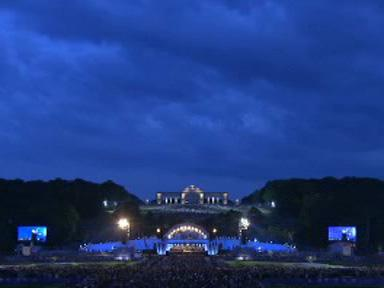Koncert Vídeňské filharmonie u Schönbrunnu