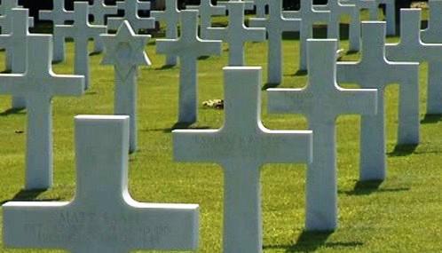 Hroby padlých vojáků v Coleville