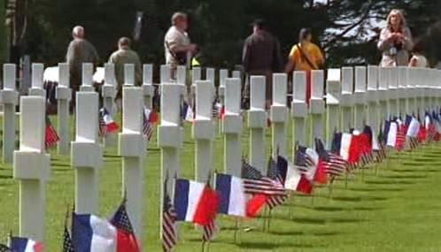 Normandie si připomíná výročí invaze spojenců