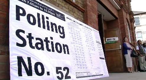 Evropské volby ve Velké Británii